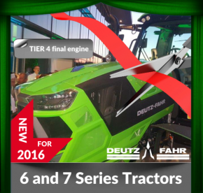 Deutz Fahr 6 and 7 Series Tractor Launch