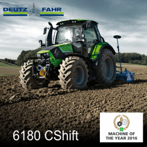 Deutz Fahr 6 Series CShift Tractor 'Machine of the Year'