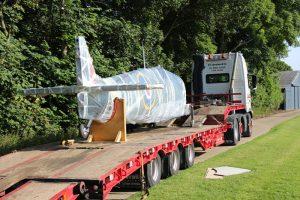 r-c-boreham-transport-haulage-spitfire-low-loader