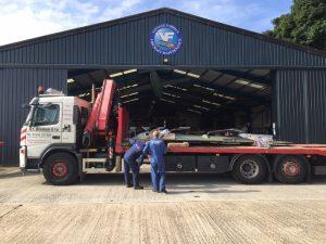 r-c-boreham-transport-haulage-spitfire-plane-crane