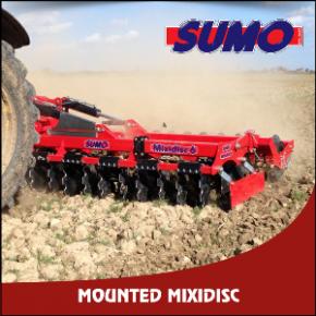 Sumo Mounted Mixidisc Cultivator