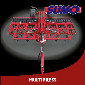 Sumo Multipress Trailed Cultivator