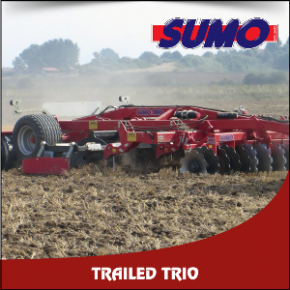 Sumo Trailed Trio Cultivator