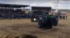 Deutz Fahr 7250 Tractor Does Wheelie