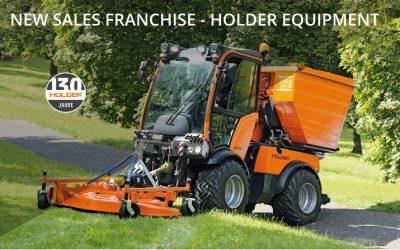 New Franchise Holder Equipment