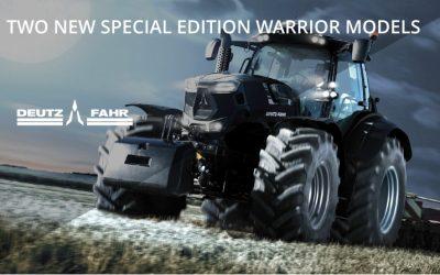 Two New Deutz Fahr Warrior Tractor Models