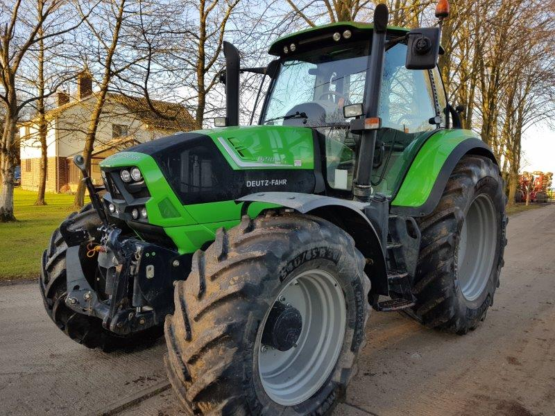 Deutz Fahr 6210 C-Shift Tractor for sale at R C Boreham & Co, Chelmsford, Essex.