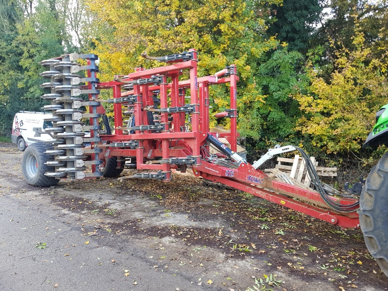 Sumo Multipress Cultivator for sale at R C Boreham & Co, Chelmsford, Essex