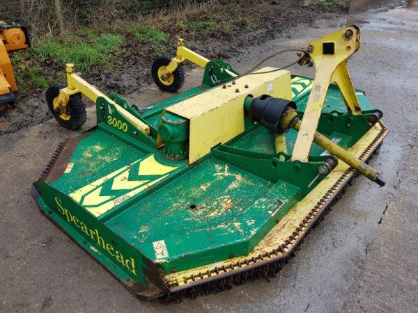 Spearhead 3000 Topper Mower for sale at R C Boreham & Co, Chelmsford, Essex, CM3 1HU