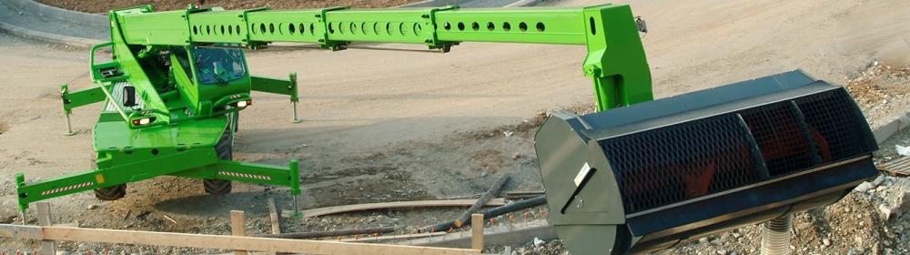 Merlo Telehandlers Construction Sector