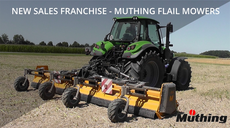 New Sales Franchise Muthing Flail Mowers