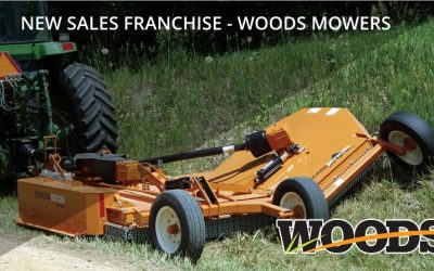 New Sales Franchise Woods Mowers