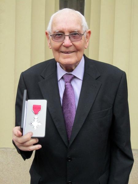 Roy Boreham MBE