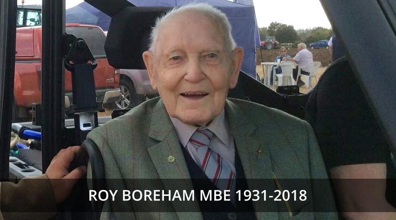 Roy Boreham MBE 1931-2018