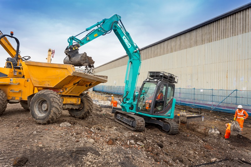Kobelco Mini Excavators | R C Boreham & Co main dealers for Essex