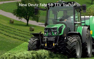 New Deutz Fahr 5D TTV Tractor